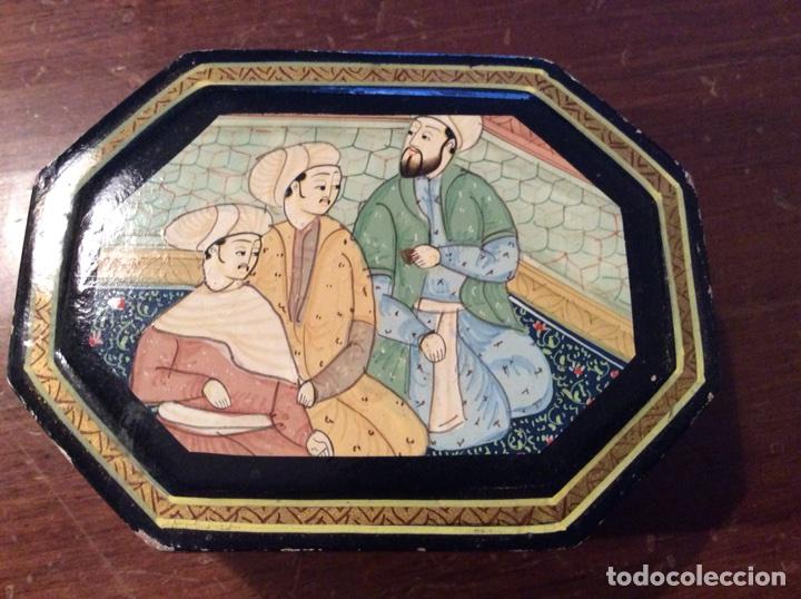 CAJITA INDIA (Antigüedades - Hogar y Decoración - Cajas Antiguas)