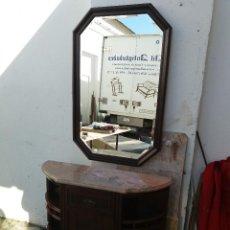 Antigüedades: CONSOLA CON ESPEJO. Lote 115721099