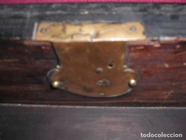 Antigüedades: Bargueño papelera hispano-flamenca, época Carlos II ffs S XVII. - Foto 9 - 39281918