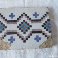 Antigüedades: AZULEJO DEL SIGLO XVIII. Lote 115739091