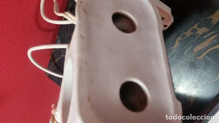Antigüedades: Lámpara de biscuit - Foto 5 - 115742535