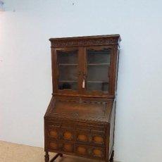 Antiquitäten - Escritorio secreter vitrina en madera en buenísimo estado con su llave. medidas 179 de alto por 90 - 115771211