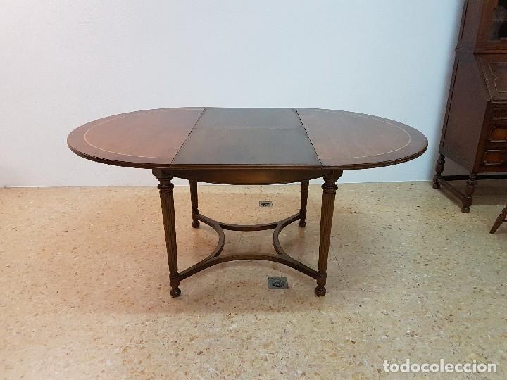 mesa redonda comedor circular madera extensible - Comprar Mesas ...