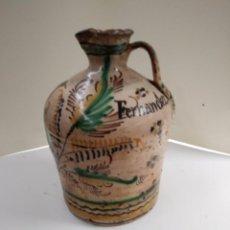 Antigüedades: JARRA PUENTE DEL ARZOBISPO XVIII. Lote 115772847