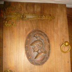 Antigüedades: METOPA EFIGIE GUERRERO CARTAGINES. Lote 74106971