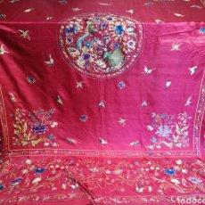 Antigüedades: MARAVILLOSA COLCHA ANTIGUA. Lote 115910627
