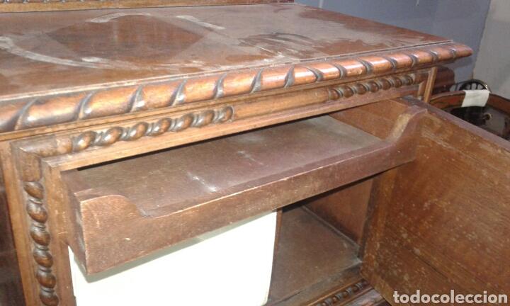 Antigüedades: Mesillas de macizas de Nogal - Foto 4 - 131526153