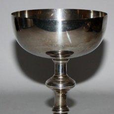 Antigüedades: CALIZ EN METAL PLATEADO DE PRINCIPIOS DEL SIGLO XX. Lote 116572006