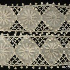 Antiquitäten - ANTIGUO ENCAJE S. XIX - 116098159