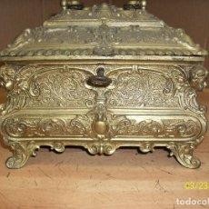 Antigüedades: ANTIGUO COFRE FRANCES-LUIS XIV-SIGLO XIX. Lote 116107287