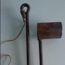 Antigüedades: ABREBOCAS METALICO PARA CABALLO ,VETERINARIA, 27 CM LONGITUD EN SU PARTE MAS LARGA. Lote 116113563