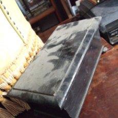 Antigüedades: ANTIGUA CAJA PEQUEÑA ISABELINA TIPO ARCON - LACADA EN NEGRO - CAJA MALLORQUINA SIGLO XIX. Lote 116117011