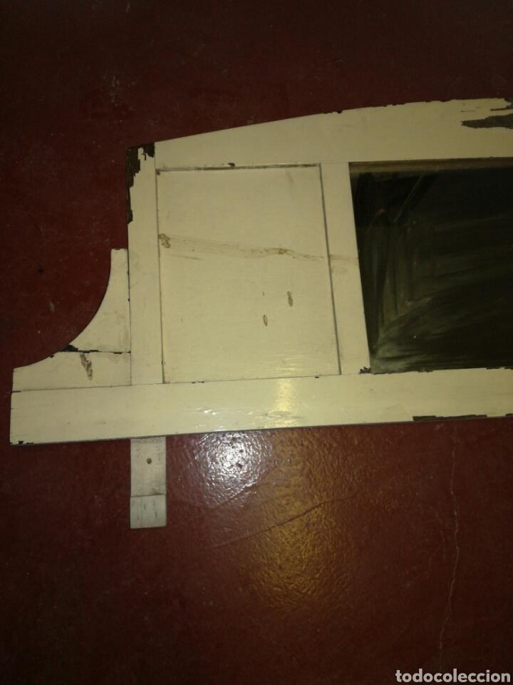 Antigüedades: Antiguo espejo de aparador Shabby chic - Foto 2 - 116120216