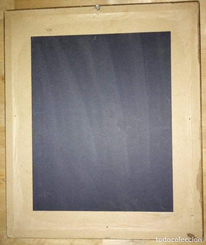 Antigüedades: Lamina época paspartú aguas Marco Dorado 43,5cm x 36.5cm - Foto 7 - 116125407