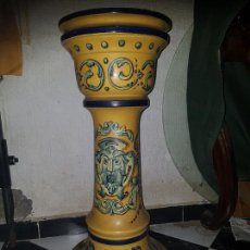 Antigüedades - PIE DE CERÁMICA DE TRIANA. VIUDA DE GOMEZ - 116132391