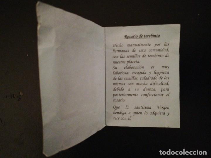 Antigüedades: Rosario de TREVINO, Monasterio Museo de la Concepción - Granada . Franciscana de la Tor - Foto 16 - 116136091