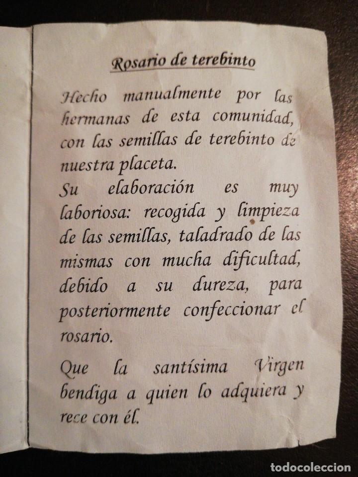 Antigüedades: Rosario de TREVINO, Monasterio Museo de la Concepción - Granada . Franciscana de la Tor - Foto 17 - 116136091