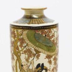 Antigüedades: JARRON PORCELANA DE LA ERA MEIJI (1868-1912) SATSUMA. Lote 116161099