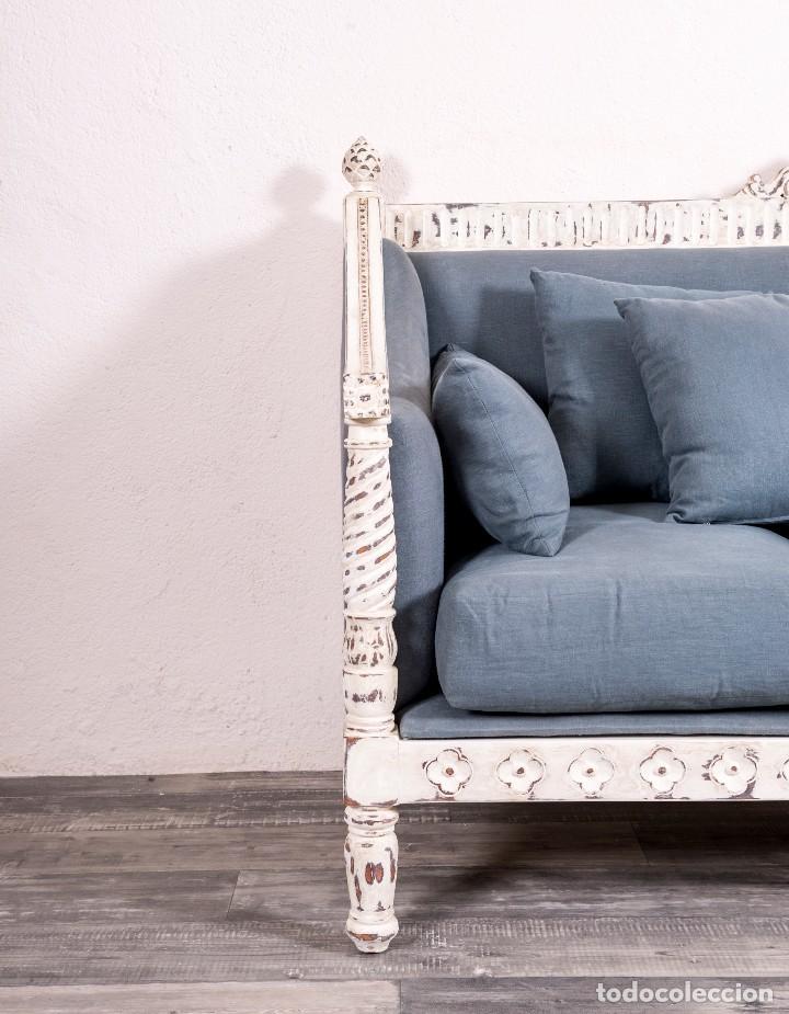 Antigüedades: Sofá Recuperado Romantique - Foto 7 - 116162351