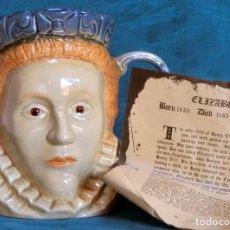 Antigüedades: GRAN JARRA DE CERÁMICA INGLESA - ELIZABETH I - KINGSTON POTTERY - SELLADA - CERTIFICADO AUTENTICIDAD. Lote 116172915