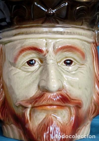 GRAN JARRA DE CERÁMICA INGLESA - RICHARD I - KINGSTON POTTERY - SELLADA - CERTIFICADO AUTENTICIDAD (Antigüedades - Porcelanas y Cerámicas - Inglesa, Bristol y Otros)