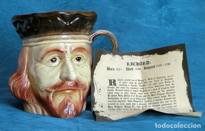 Antigüedades: GRAN JARRA DE CERÁMICA INGLESA - RICHARD I - KINGSTON POTTERY - SELLADA - CERTIFICADO AUTENTICIDAD - Foto 2 - 116173811