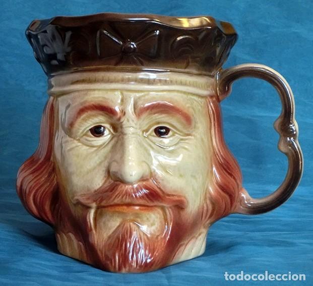 Antigüedades: GRAN JARRA DE CERÁMICA INGLESA - RICHARD I - KINGSTON POTTERY - SELLADA - CERTIFICADO AUTENTICIDAD - Foto 5 - 116173811