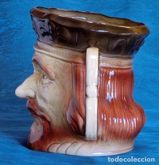 Antigüedades: GRAN JARRA DE CERÁMICA INGLESA - RICHARD I - KINGSTON POTTERY - SELLADA - CERTIFICADO AUTENTICIDAD - Foto 7 - 116173811