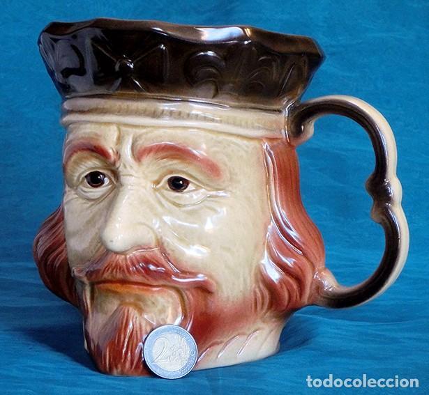 Antigüedades: GRAN JARRA DE CERÁMICA INGLESA - RICHARD I - KINGSTON POTTERY - SELLADA - CERTIFICADO AUTENTICIDAD - Foto 14 - 116173811
