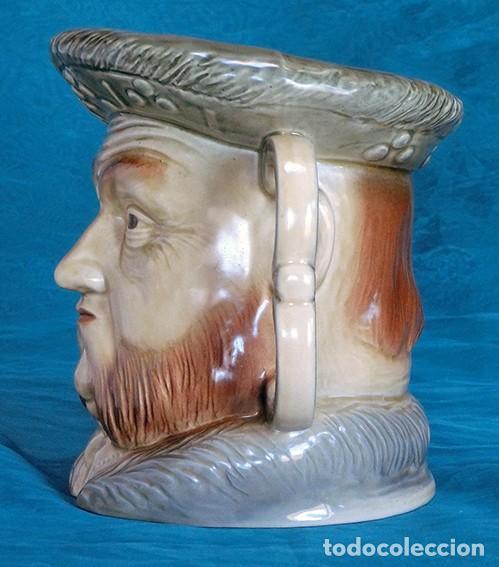 Antigüedades: GRAN JARRA DE CERÁMICA INGLESA - HENRY VIII - KINGSTON POTTERY - SELLADA - CERTIFICADO AUTENTICIDAD - Foto 6 - 116174139