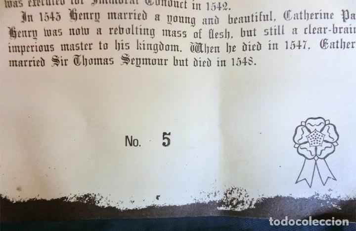 Antigüedades: GRAN JARRA DE CERÁMICA INGLESA - HENRY VIII - KINGSTON POTTERY - SELLADA - CERTIFICADO AUTENTICIDAD - Foto 9 - 116174139