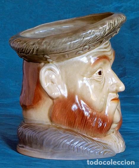 Antigüedades: GRAN JARRA DE CERÁMICA INGLESA - HENRY VIII - KINGSTON POTTERY - SELLADA - CERTIFICADO AUTENTICIDAD - Foto 12 - 116174139