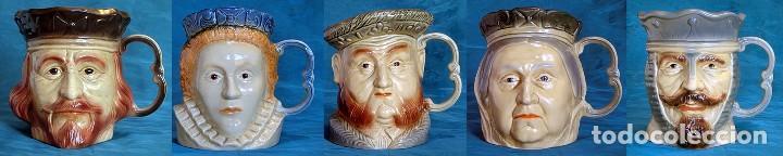 Antigüedades: GRAN JARRA DE CERÁMICA INGLESA - HENRY VIII - KINGSTON POTTERY - SELLADA - CERTIFICADO AUTENTICIDAD - Foto 14 - 116174139