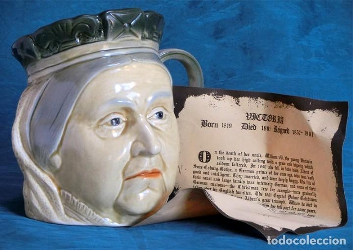 Antigüedades: GRAN JARRA DE CERÁMICA INGLESA - VICTORIA - KINGSTON POTTERY - SELLADA - CERTIFICADO AUTENTICIDAD - Foto 2 - 116174451
