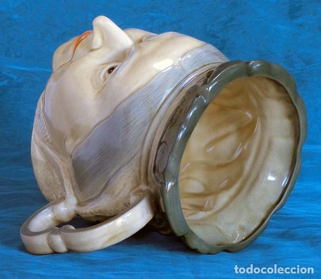 Antigüedades: GRAN JARRA DE CERÁMICA INGLESA - VICTORIA - KINGSTON POTTERY - SELLADA - CERTIFICADO AUTENTICIDAD - Foto 4 - 116174451