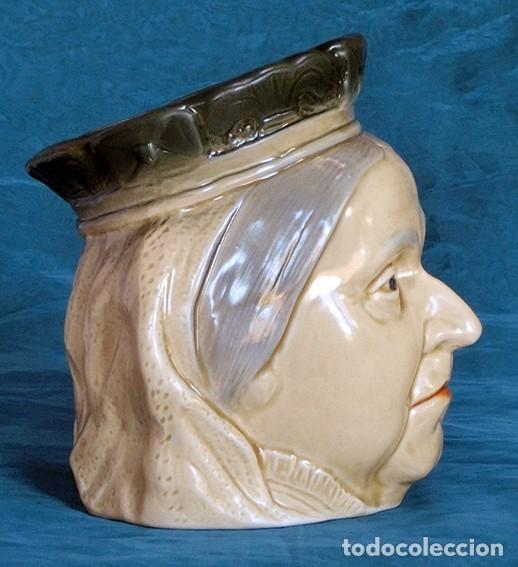Antigüedades: GRAN JARRA DE CERÁMICA INGLESA - VICTORIA - KINGSTON POTTERY - SELLADA - CERTIFICADO AUTENTICIDAD - Foto 5 - 116174451