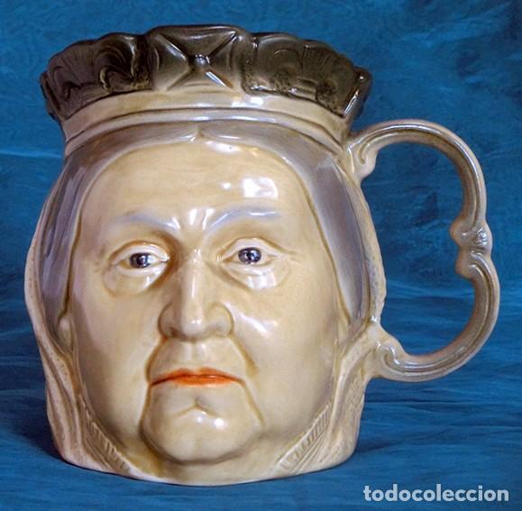 Antigüedades: GRAN JARRA DE CERÁMICA INGLESA - VICTORIA - KINGSTON POTTERY - SELLADA - CERTIFICADO AUTENTICIDAD - Foto 9 - 116174451