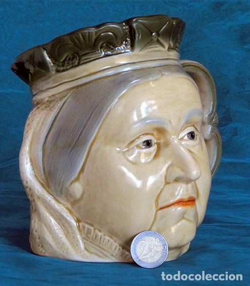Antigüedades: GRAN JARRA DE CERÁMICA INGLESA - VICTORIA - KINGSTON POTTERY - SELLADA - CERTIFICADO AUTENTICIDAD - Foto 13 - 116174451