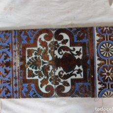 Antigüedades: COMPOSICION DE AZULEJOS RAMOS REJANO. Lote 116196363