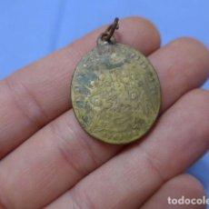 Antigüedades: * ANTIGUA MEDALLA RELIGIOSA DE SARRION ( ARAGON ) DE SIGLO XVIII- XIX. ORIGINAL. ZX. Lote 116217607