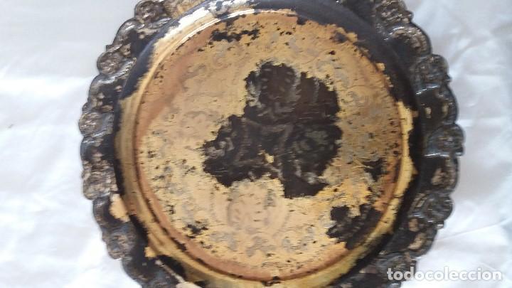 Antigüedades: Juego plata arabe fuente e incensario - Foto 3 - 116239491