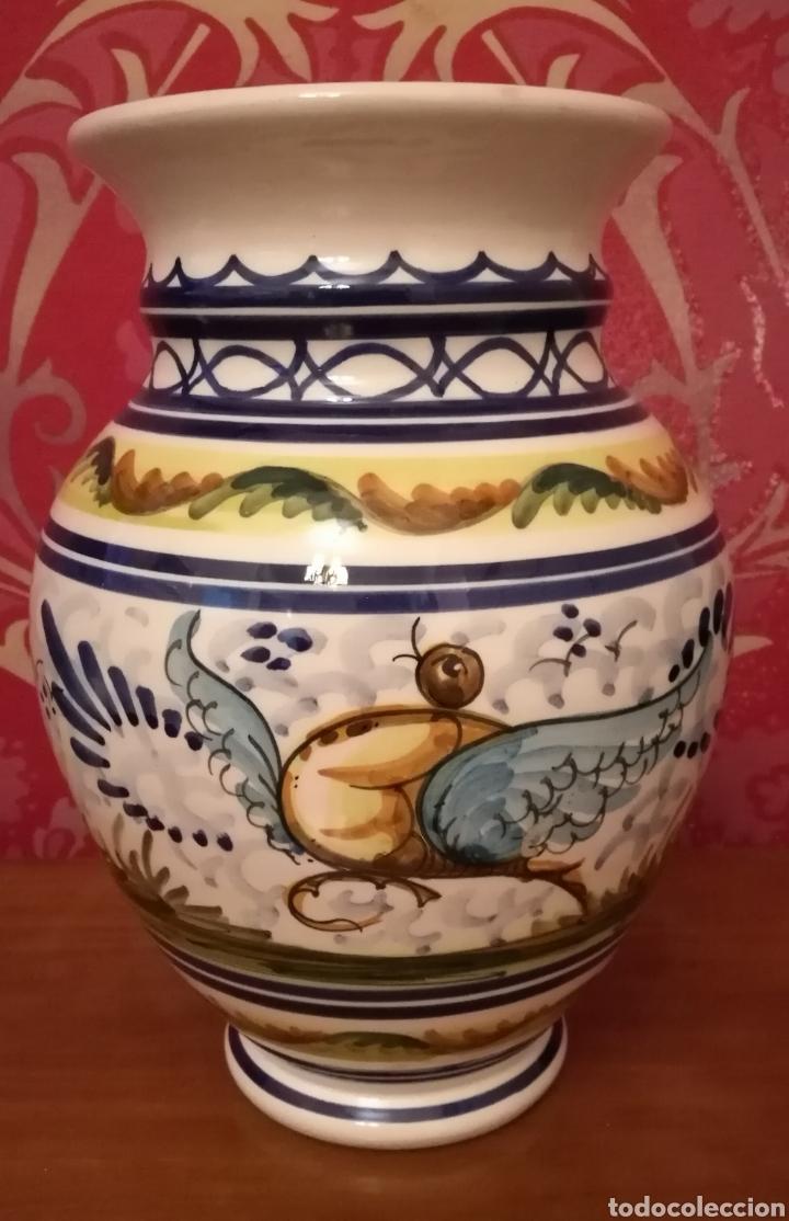 JARRÓN DE CERÁMICA DE TRIANA (Antigüedades - Porcelanas y Cerámicas - Triana)