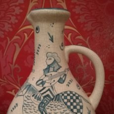 Antigüedades: MAGNÍFICO JARRÓN DE CERÁMICAS SANTA ANA TRIANA. Lote 116249491