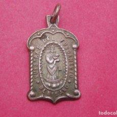 Antigüedades: DIFÍCIL MEDALLA ANTIGUA VIRGEN DEL FUNDAMENTO. BENISANÓ. VALENCIA.. Lote 116261035