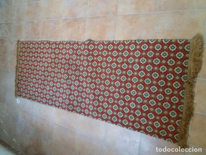 Antigüedades: alfombra de pasillo - Foto 10 - 46614695