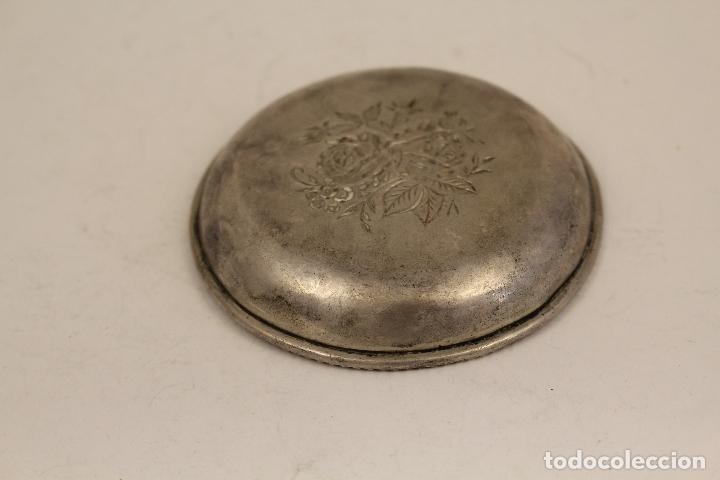 Antigüedades: bandeja en plata maciza de ley 925milesimas - Foto 4 - 125989975