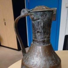 Antigüedades: LECHERA DE COBRE-2. Lote 116344851