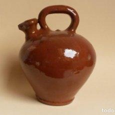 Antigüedades: C111.- CANTARO DE ACEITE VIDRIADO. Lote 116366099