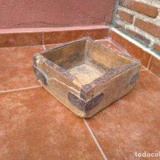 Antigüedades: CELEMÍN - MEDIDA DE GRANO - ANTIGUO. Lote 116371751