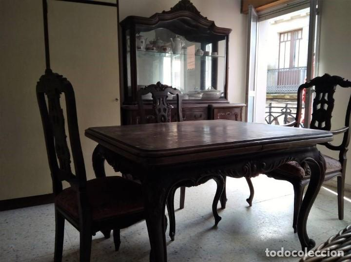 VITRINA CASTAÑO (Antigüedades - Muebles Antiguos - Aparadores Antiguos)